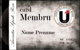 Card membru ASR 1919